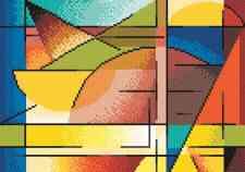 Размер вышивки: 140х100 кр. Набор для вышивания Абстракция, PANNA Ф-0132 купить в санкт петербурге Шале, Aida 14 (К04.